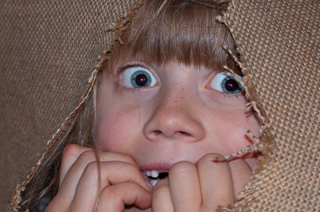 Miedos en el desarrollo de un niño