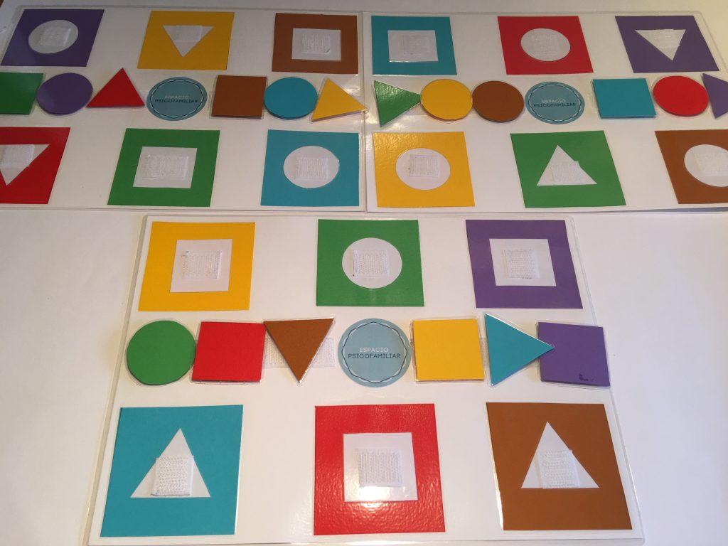 Formas y colores para trabajar en educación infantil y en adultos mayores