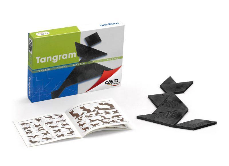 Imagen de un juego Tangram disponible en el mercado